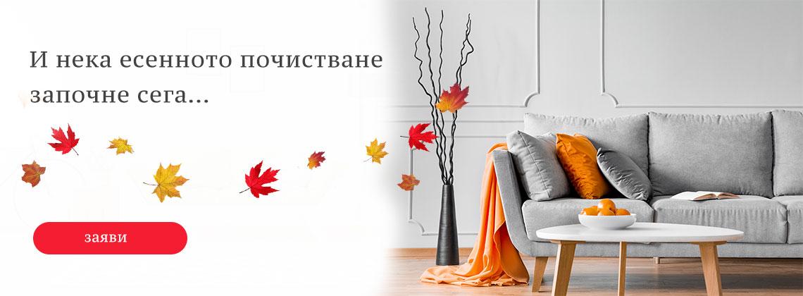 Есенно почистване